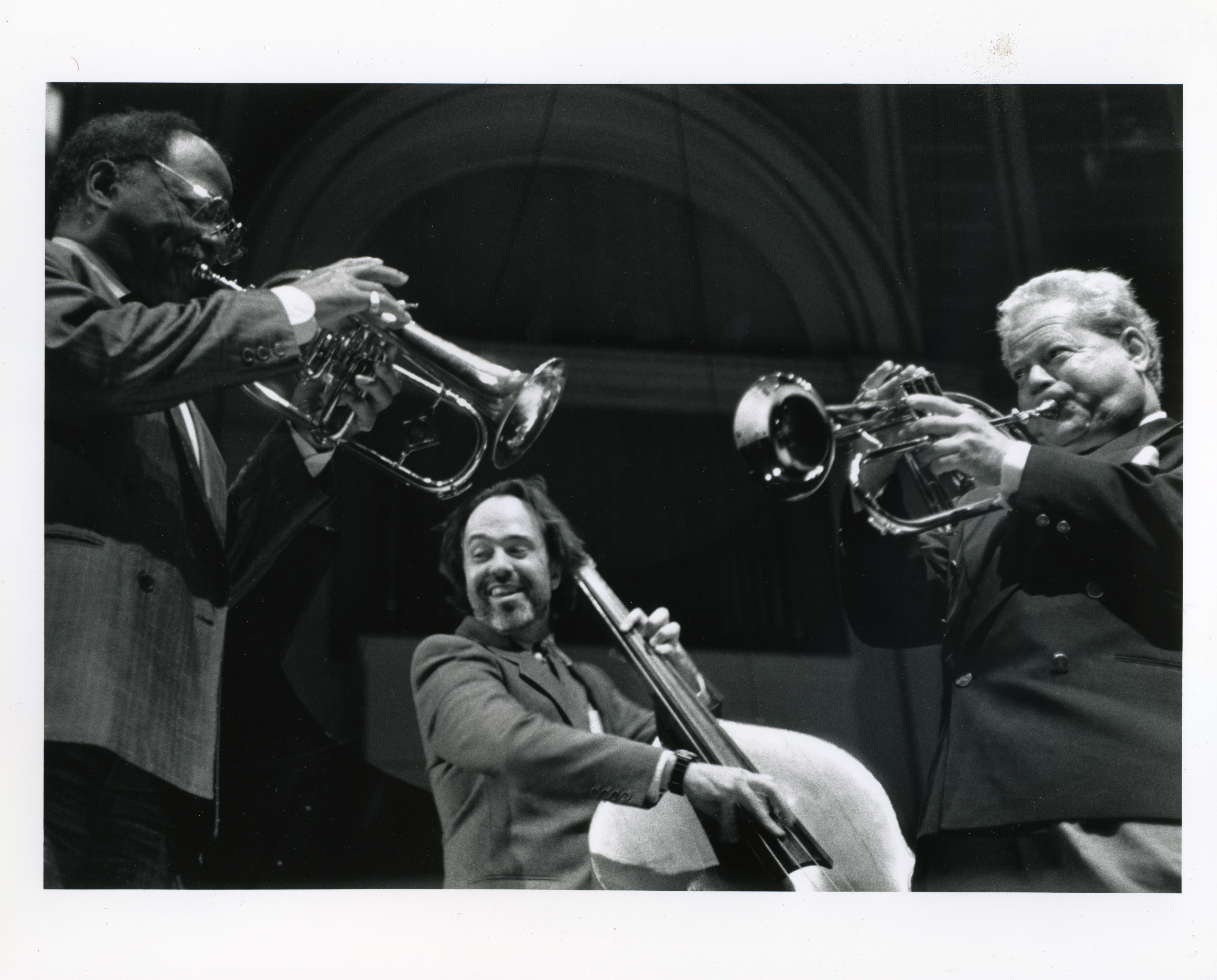Larry Gra w:Clark Terry and Red Rodney